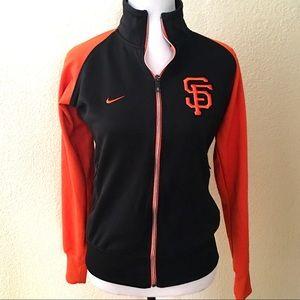 Nike SF Giants Warm Up Full Zip Jacket Coat